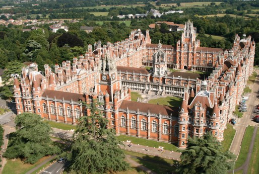 royal holloway aerial view