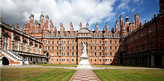 view of rhul quad